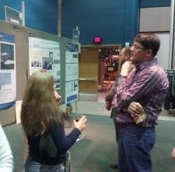 Your poster is a good way to have conversations with other scientists